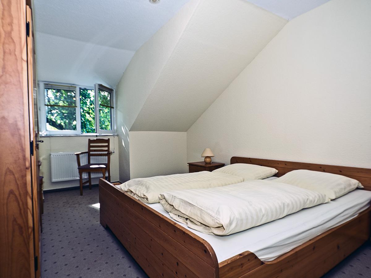 Appartement A - Schlafzimmer