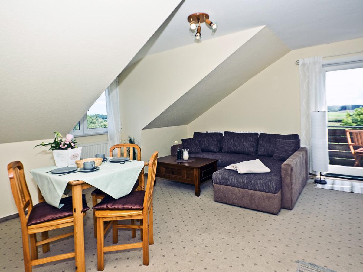 Appartement A - Wohnzimmer