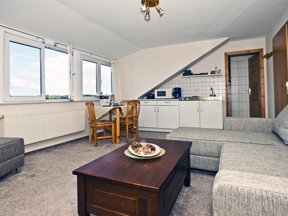 Appartement C - Wohnzimmer