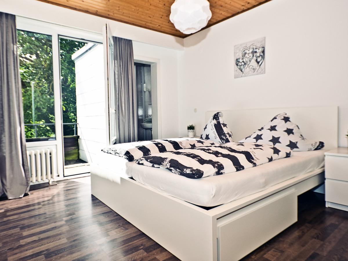 FeWo Waldblick - Schlafzimmer 1