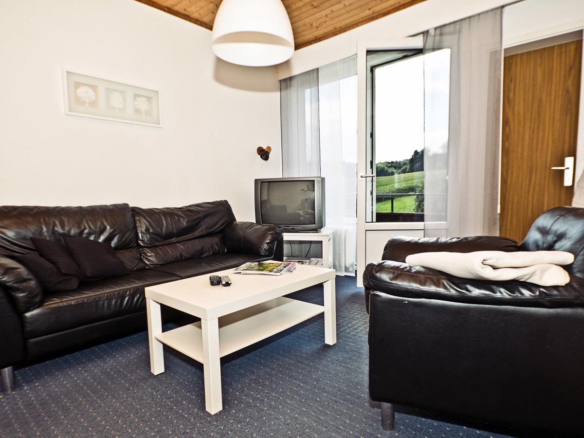 FeWo Waldblick - Wohnzimmer