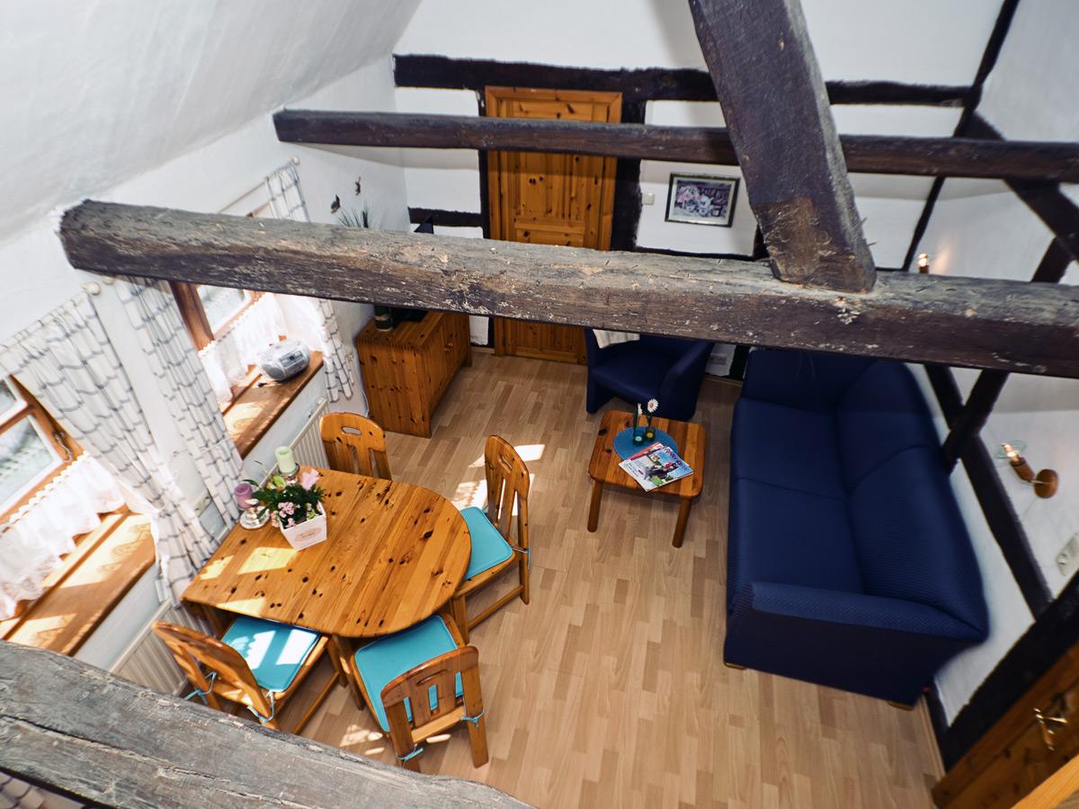 FeWo Zum Hof - Wohnzimmer